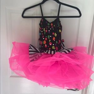 Costume Gallery Girls Dance Costume Size L